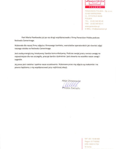 PANAVISION_Polska_referencje-2014